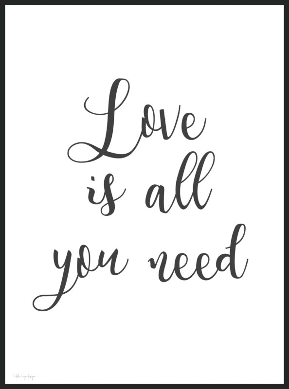 Love is all you need - poster